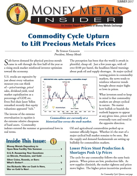 Money Metals Insider - Summer 2017