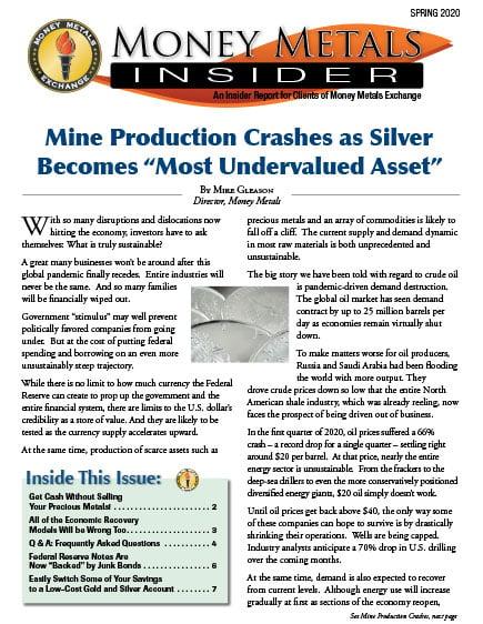 Money Metals Insider - Spring 2020