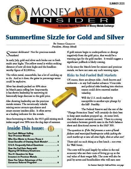 Money Metals Insider - Summer 2020