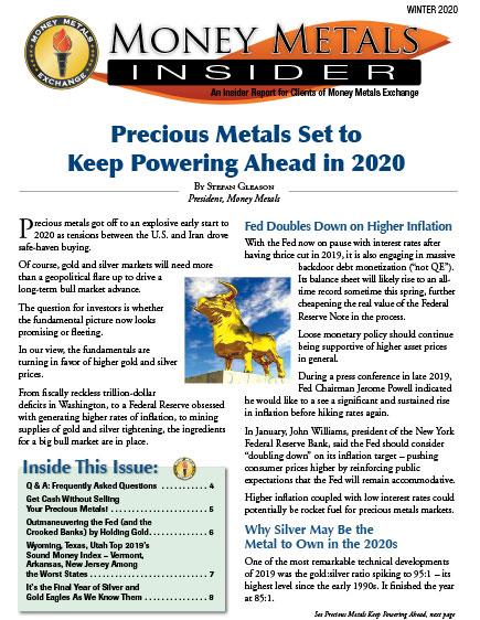 Money Metals Insider - Winter 2020