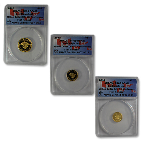 Million Dollar Coin 5th Anniversary Fractional Maples!