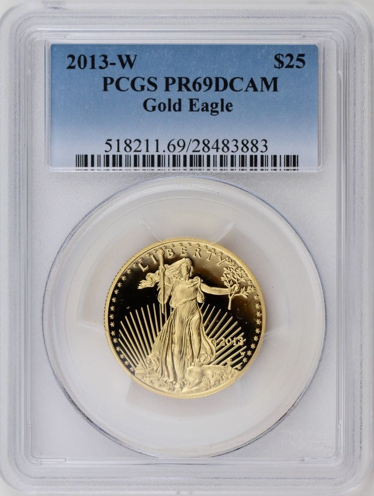 Proof Gold Eagle - PCGS Certified, PR69 DCAM