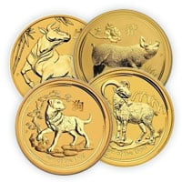 Buy Gold Perth Mint Lunar Series