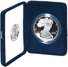 Proof Silver Eagles with Mint Box -- only $39.95 while they last!