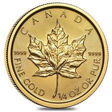 Slashed premiums on 1/4-oz Gold Maples