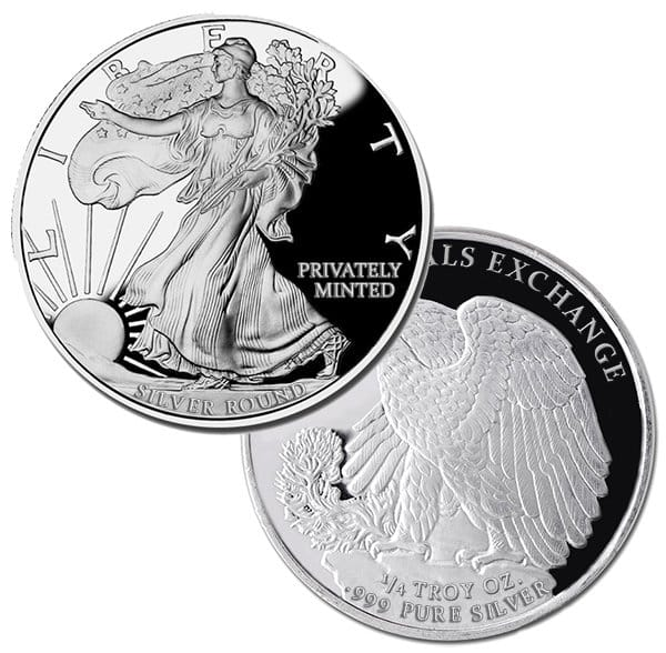 Slashed Premiums on 1/4-oz Walking Liberty Silver Rounds