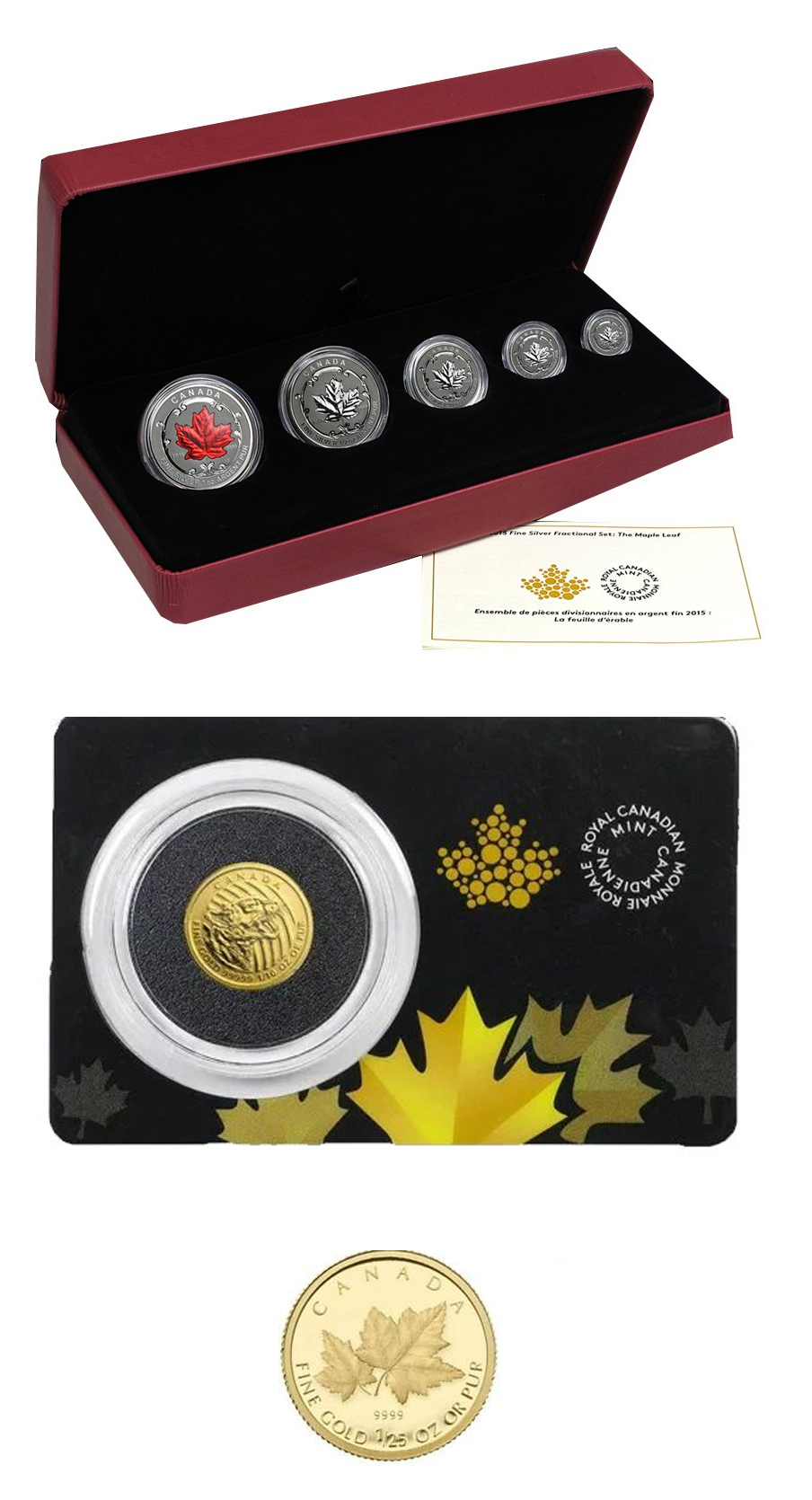 Royal Canadian Mint Gold and Silver Items!