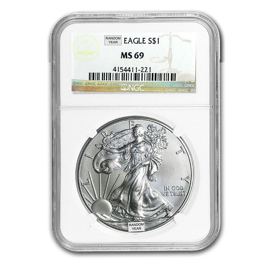Graded Silver American Eagles!