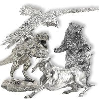 Buy Silver Silver Statues