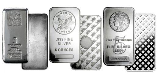 Silver Bars - 1 oz