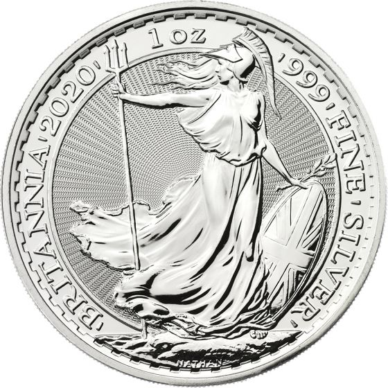 1-oz Silver Britannia