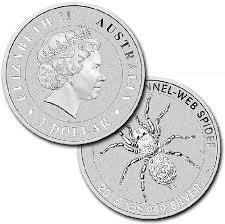 Australian Spider 1-oz Silver Coins