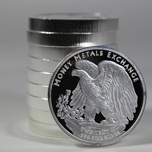 Introducing the 2-Ounce Walking Liberty Silver Round