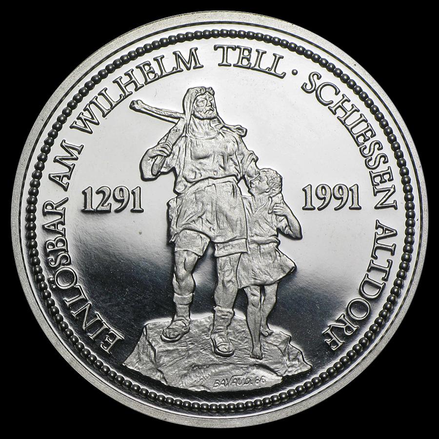 Switzerland 1-oz Platinum Coin