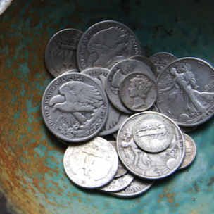 US Pre-1965 Minted Silver Coinage