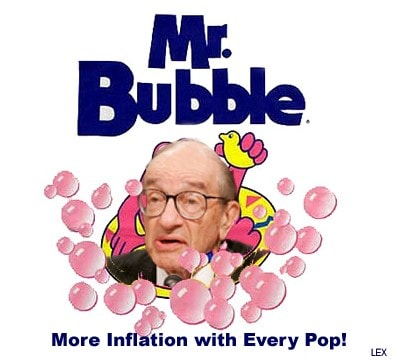 Alan Greenspan criticizes the Fed