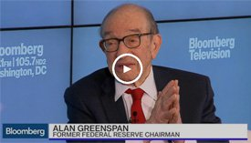 Alan Greenspan on Bloomberg
