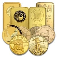 All Gold Bullion Products