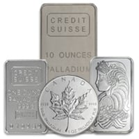 All Palladium Bullion Products
