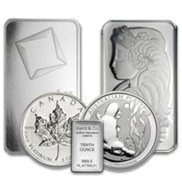 All Platinum Bullion Products