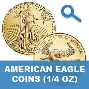 American Gold Eagle 1/4 Ounce Gold Coins