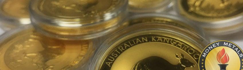 Austrlian Kangaroo Gold Coins
