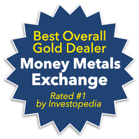 Best Overall Gold Dealer according to Investorpedia