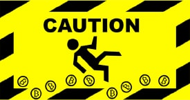 Bitcoin Caution