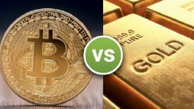 Bitcoins vs Gold