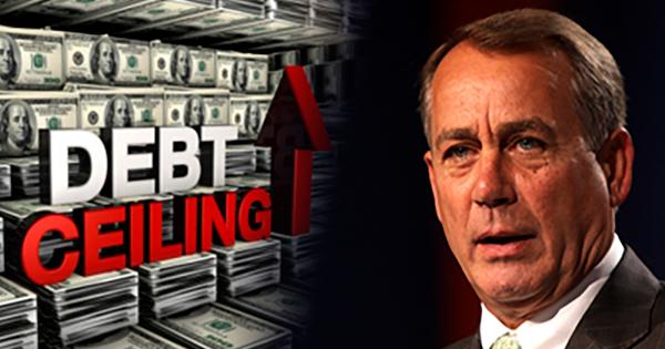 Speaker Boehner Debt Ceiling