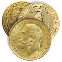 Buy Gold British Coins