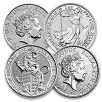 Buy Silver British Coins