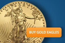 Buy 1 oz Gold Eagles from Money Metals Exchange