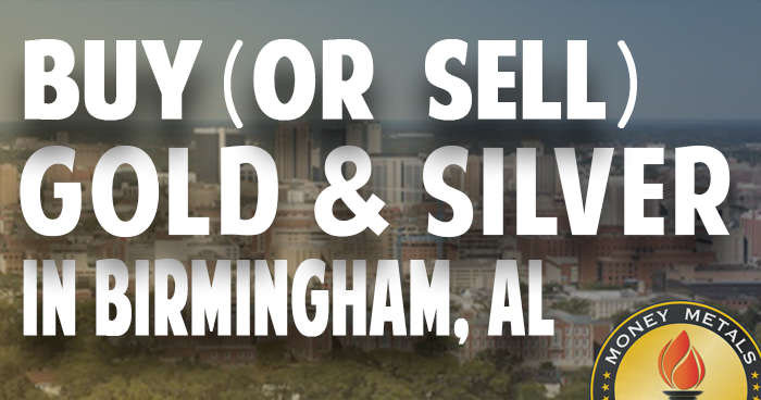 Where To Buy Or Sell Gold Silver In Birmingham Al
