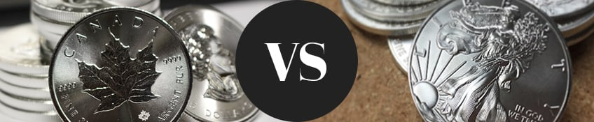 Silver American Eagle vs. Silver Maple Leaf - An Investment Guide