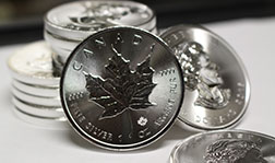 Silver Maple Leafs Design