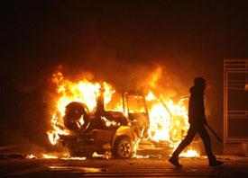 Rioting, Looting, Violence