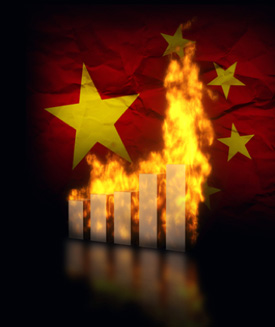 Chinese Markets on Fire
