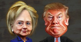 Hillary Clintion & Donald Trump