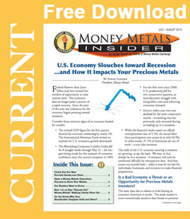 Money Metals Insider, July/August 2015
