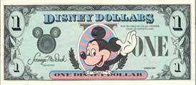 Disney Dollars | $1