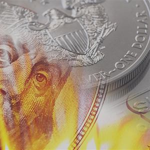 dollar collapse silver