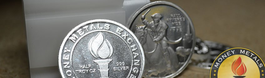 Fractional Silver from Money Metals Exchange