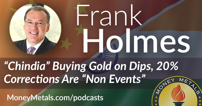 Frank Holmes Interview: Chindia Buying Gold