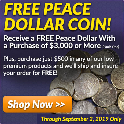 Free Peace Dollar Coin!