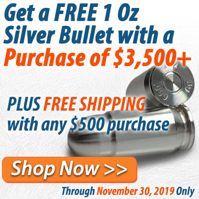 Nov 2019 - Free Silver Bullet Promo