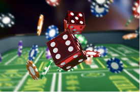 Gambling Dice Roll