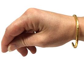 Gold Bracelet (Wrist)