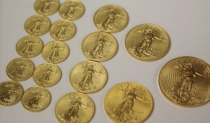 gold eagle denominations