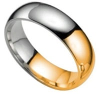 Gold and Silver: the one ring